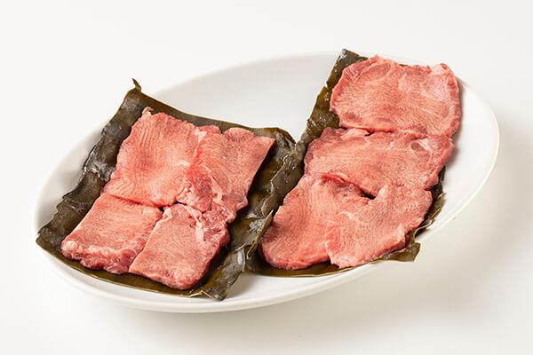 牛タン昆布締め焼